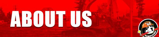 T & T Demolition | About us