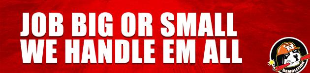 T & T Demolition | Job big or small we handle em all